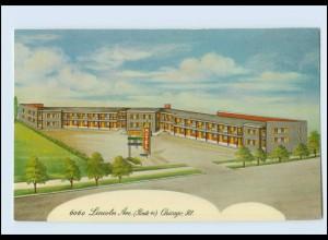 W8Z08/ Chicago Ill. Tip Top Hotel AK ca.1955 USA