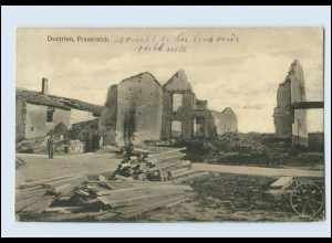 A9645/ Dontrien 1.Weltkrieg AK Frankreich 1916