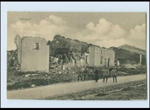 A9635/ Gercourt zerstört 1.Weltkrieg AK Frankreich 1915