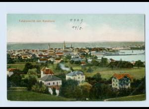 W9A81-7750/ Konstanz Totalansicht 1909 AK