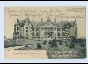 P3X81/ Metz Lothringen Neues General-Kommando-Gebäude AK 1905