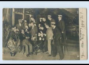 P3P30/ Studenten Studentika Foto AK Alt-Heidelberg ca.1900 (b)