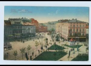 P3Q15/ Lemberg Haliczer Platz Ukraine AK 1915