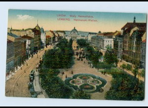 P3Q14/ Lemberg Hetmanski-Wallen Ukraine AK 1915