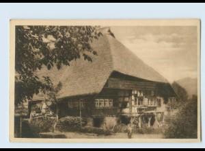 P3V39/ J. Elchlepp AK No. 6 Das Schwarzwaldhaus ca.1912
