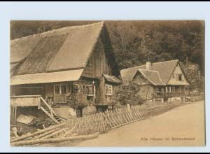 P4A00/ Alte Häuser im Schwarzwald AK Rheinischer Kunstverlag ca.1912