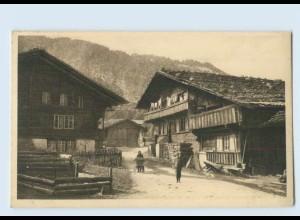 P3V63/ J. Elchlepp AK No. 4 Schweizer Bauernhäuser Wilderswyl b. Interlaken
