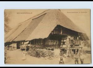 P4A01/ Schwarzwaldhaus im Gutachtal AK Rheinischer Kunstverlag ca.1912