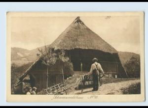 P3X99/ Schwarzwaldhaus No. 28 Verlag: Elchlepp AK ca.1912