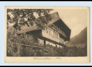 P3X98/ Schwarzwaldhaus No. 26 Verlag: Elchlepp AK ca.1912