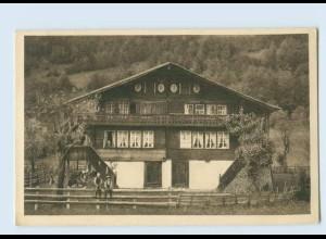 P3V58/ J. Elchlepp AK No. 14 Schweizer Bauernhäuser Haus in Hofstetten b. Brienz