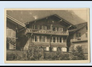 P3V56/ J. Elchlepp AK No. 13 Schweizer Bauernhäuser Haus in Ringgenberg ca.1912