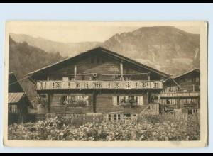 P3V62/ J. Elchlepp AK No. 2 Schweizer Bauernhäuser Haus in Hoffstetten b. Brienz