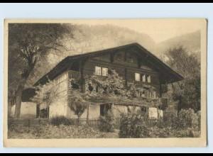 P3V61/ J. Elchlepp AK No. 1 Schweizer Bauernhäuser Haus in Brienzwyler ca.1912