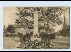 P3V05/ Horsham War Memorial AK Großbritannien ca.1925