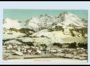 P3U48/ Adelboden mit Lohner schöne AK ca.1910