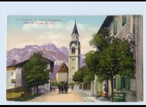 P3U67/ Il Campanile in Cortina d`Ampezzo AK ca.1912
