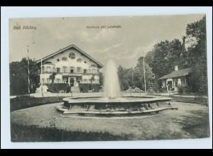 W5G94/ Bad Aibling Kurhaus Brunnen AK 1929