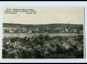 P4F19-145./ Werder a. H. Foto AK 1931