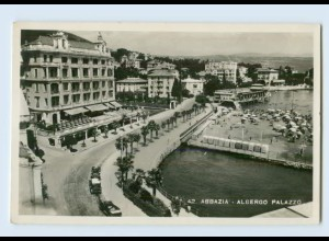 P4F60/ Abbazia Albergo Palazzo Foto AK 1941 Kroatien