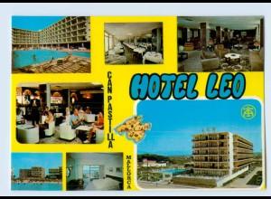 W9F79/ Mallorca C`an Pastilla Hotel Leo AK ca.1975