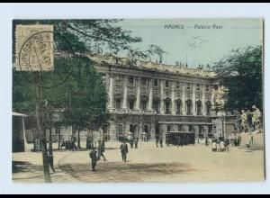 B786/ Spanien Madrid Palacio Real 1915 AK