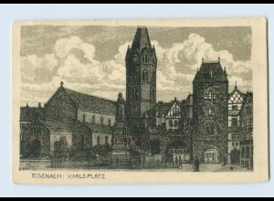 W9H67/ Eisenach Karlsplatz AK ca.1925