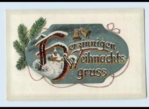W9K16/ Weihnachten Glocken schöne AK 1916