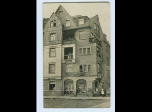 Y16462/ Frankfurt M. Breitlacherstraße Geschäft Kolonialwaren Foto AK ca.1910
