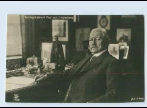 DP14/ Reichspräsident Hindenburg Foto AK ca.1925