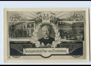 DP279/ von Hindenburg Geburtshaus in Posen, Palais in Berlin Foto AK ca.1915
