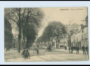 D975/ Charleville Cours d`Orleans AK 1915