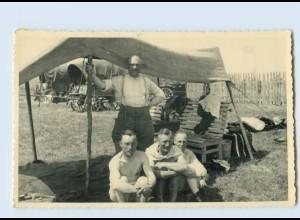W9M99/ Deutsche Soldaten bei Kowno Juli 1941 2. Weltkrieg Foto Litauen AK