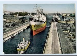 E204/ Varna Die Schiffswerft Bulgarien AK 1960