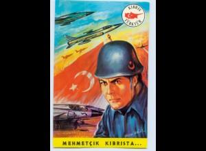 DP176/ Mehmetcik Kibrista Türktür Türkei AK ca.1975 Militär