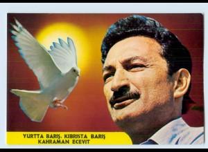 W9T05/ Türkei Kahraman Ecevit - Kibrista Baris AK ca.1975