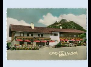 W9R13/ Winkl b. Fischbachau Cafe Winklstüberl AK 1961