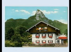 W9R04/ Oberammergau Fremdenheim Sonnenschein AK ca.1960