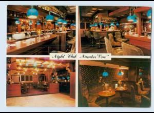 """W9Q87/ Arnheim Night Club Nimer """"one"""" AK ca.1970"""