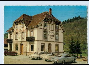 W9Q81/ Oberharmersbach Gasthof Schwarzwälder Hof AK