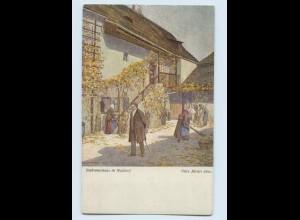 W9R58/ Beethoven in Nussdorf Wiener Kunst AK ca.1912