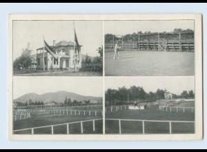 E783/ Santiago de Chile Deutscher Sport-Verein Tennis Reitsport AK ca.1925