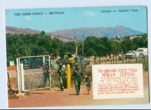W9V44/ Metulla Israel - The Good Fence 1979