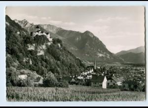 W9V48/ Vaduz Liechtenstein AK 1959