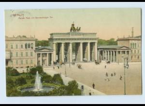 E913/ Berlin Brandenburger Tor AK 1906