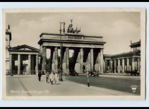 E910/ Berlin Brandenburger Tor Foto AK 1940