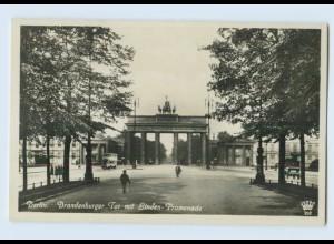 E908/ Berlin Brandenburger Tor Foto AK ca.1935