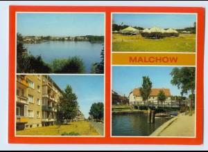 F001-172./ Malchow Kr. Waren AK mit Pionierlager