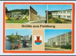 E996-172./ Feldberg Mecklenburg Feldberger Seenlandschaft Kr. Neustrelitz AK