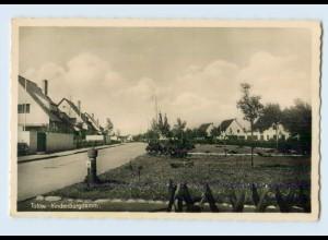 F170-171./ Tutow Hindenburgdamm Foto AK ca.1938